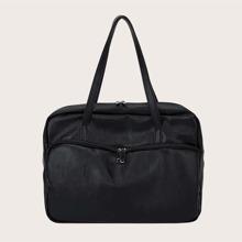Minimalist Large Capacity Tote Bag