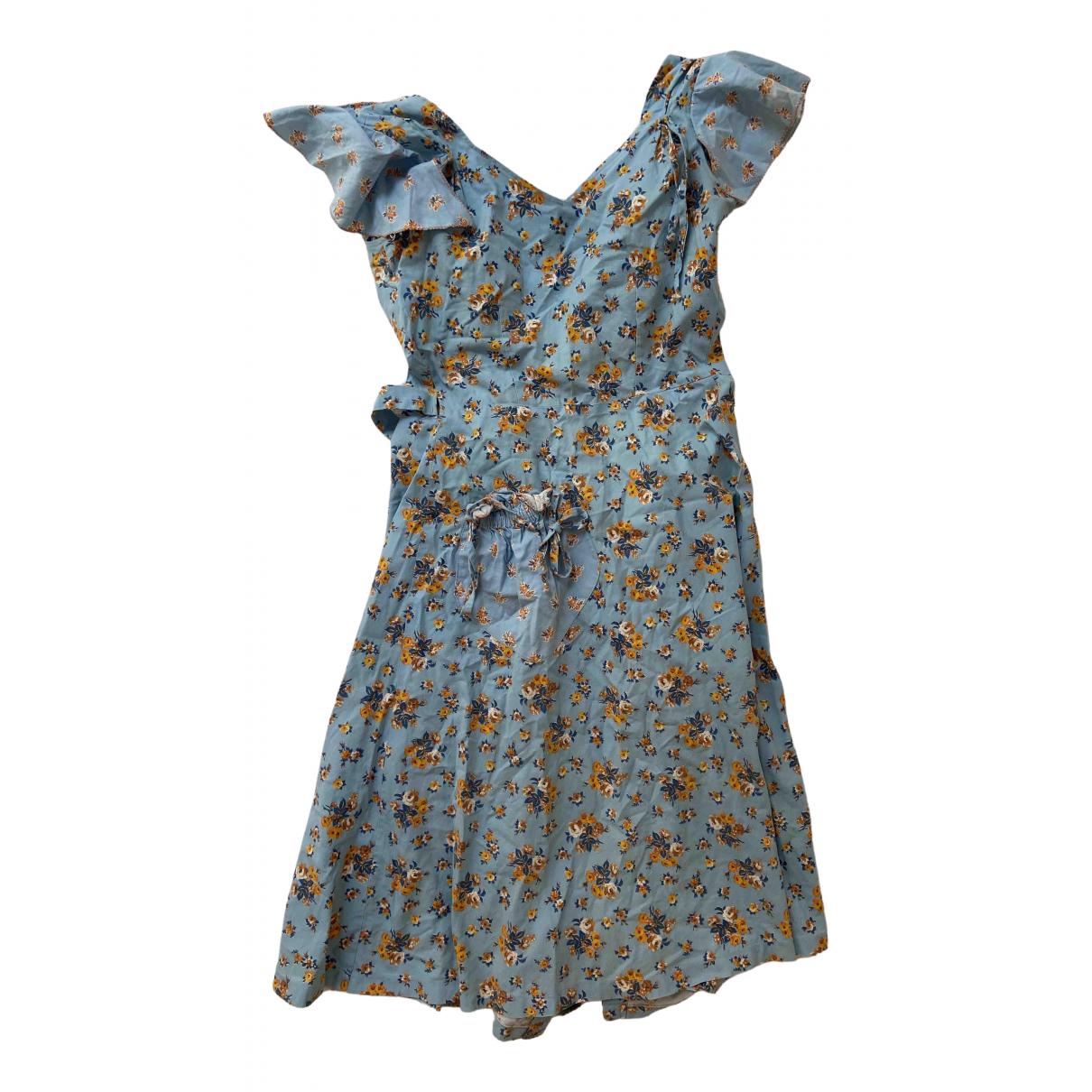 Fiorucci \N Kleid in  Bunt Baumwolle