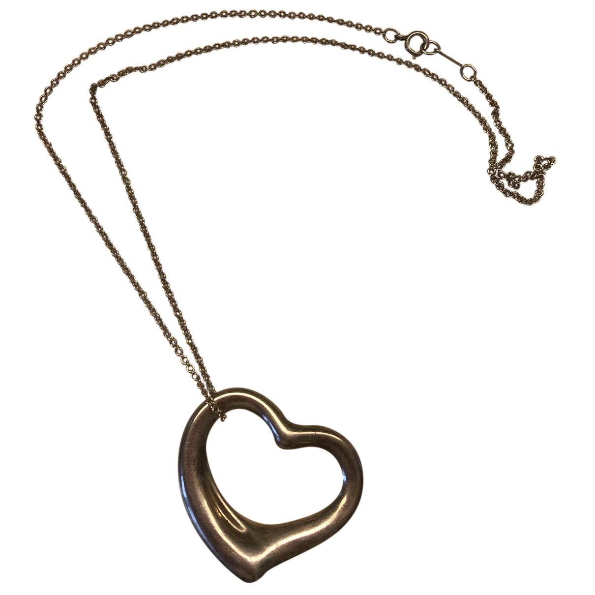 Tiffany & Co Elsa Peretti  Silver necklace for Women N