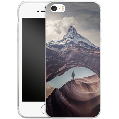 Apple iPhone SE Silikon Handyhuelle - The Great Outdoors von Enkel Dika