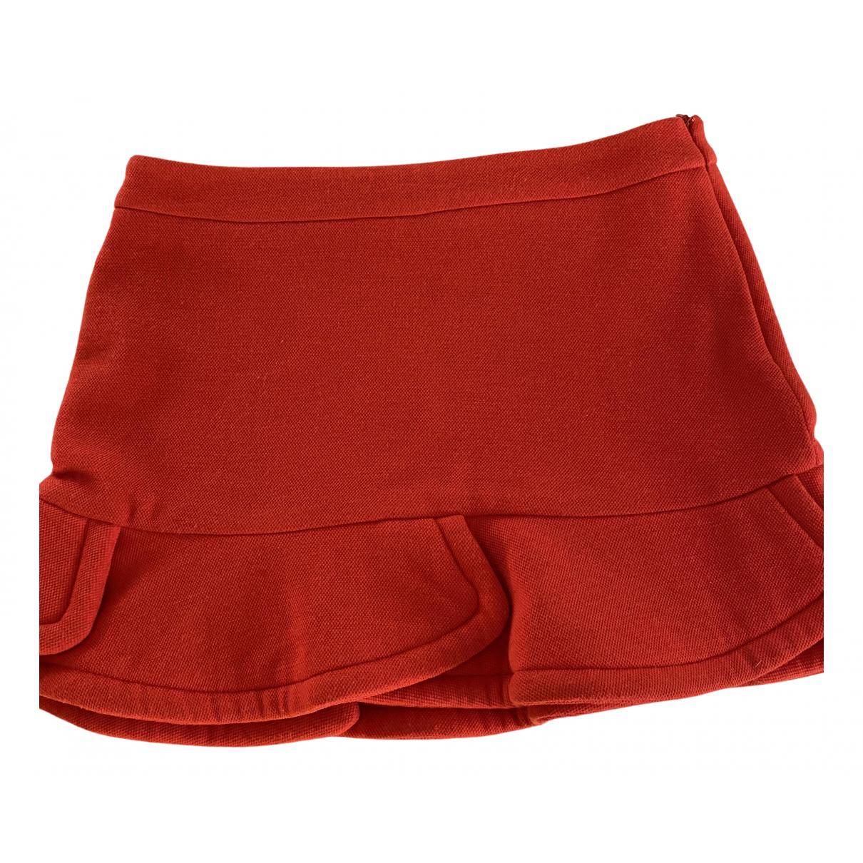 Mini falda de Lana Maje