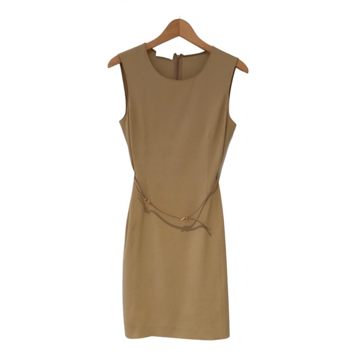 Prada \N Kleid in  Beige Synthetik