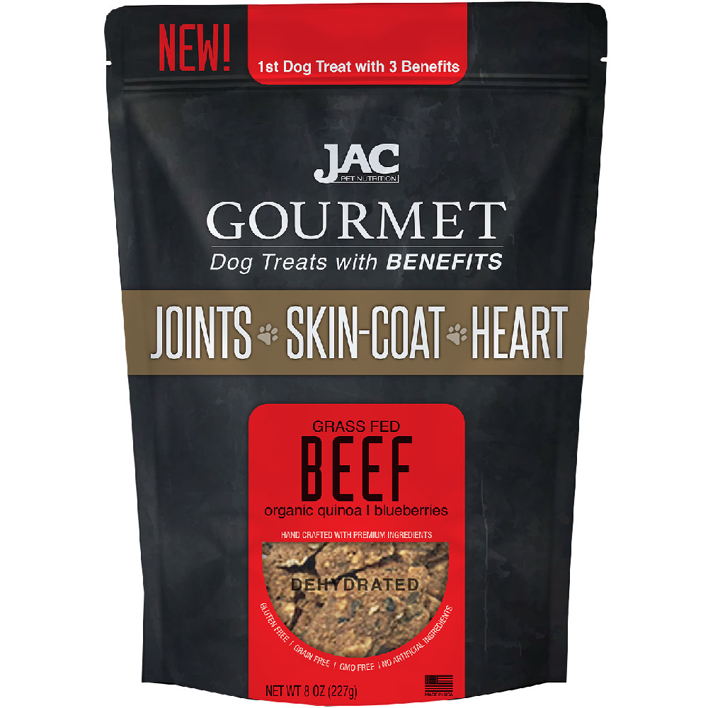 JAC Gourmet Dog Treats - Beef (8 oz)