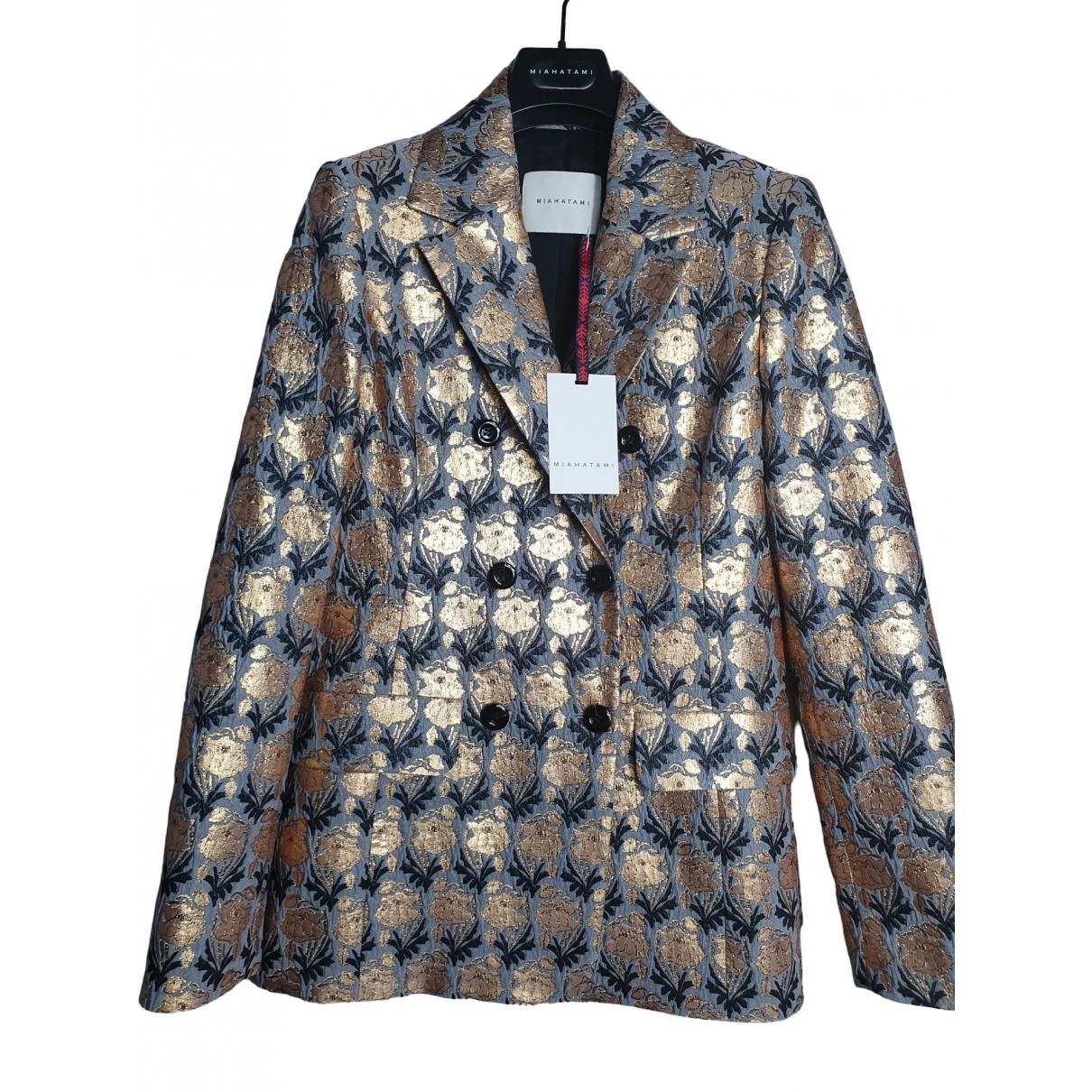 Miahatami \N Gold jacket for Women S International
