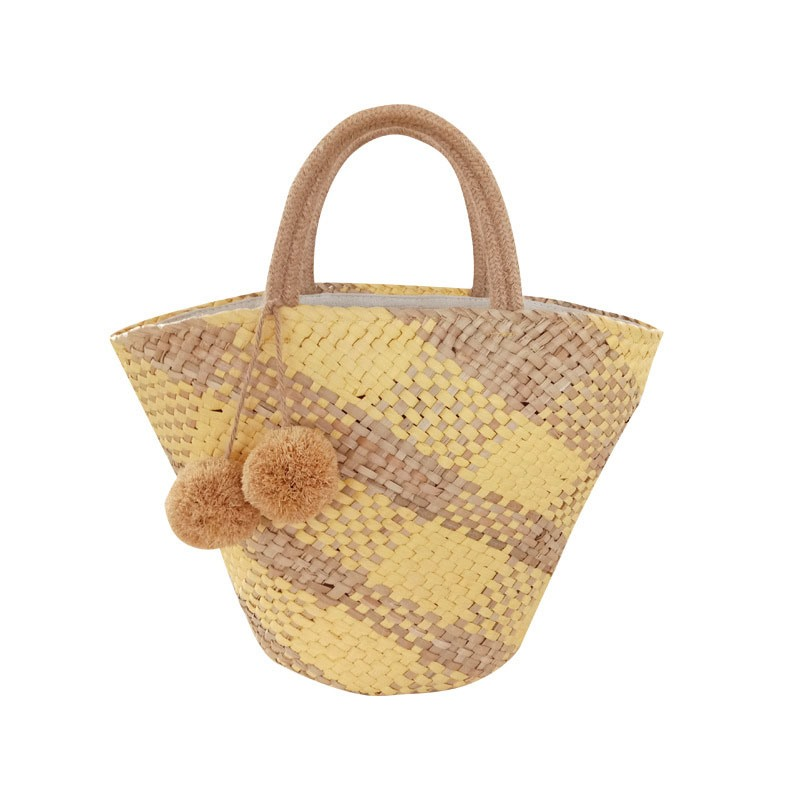 Ericdress Color Block Grass Shell Women's Tote Bags