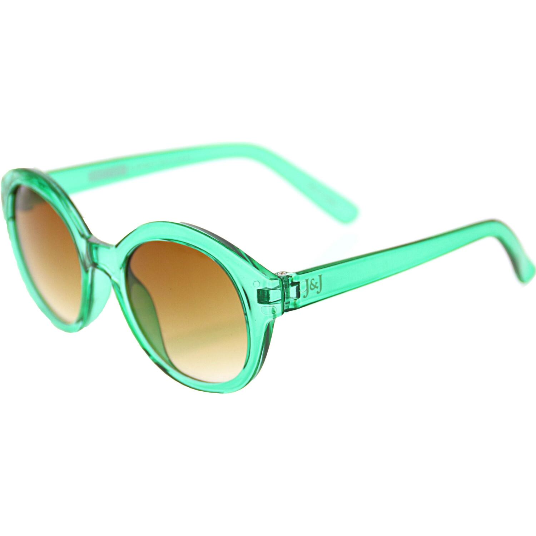 Janie And Jack Round Sunglasses 200403878 Green