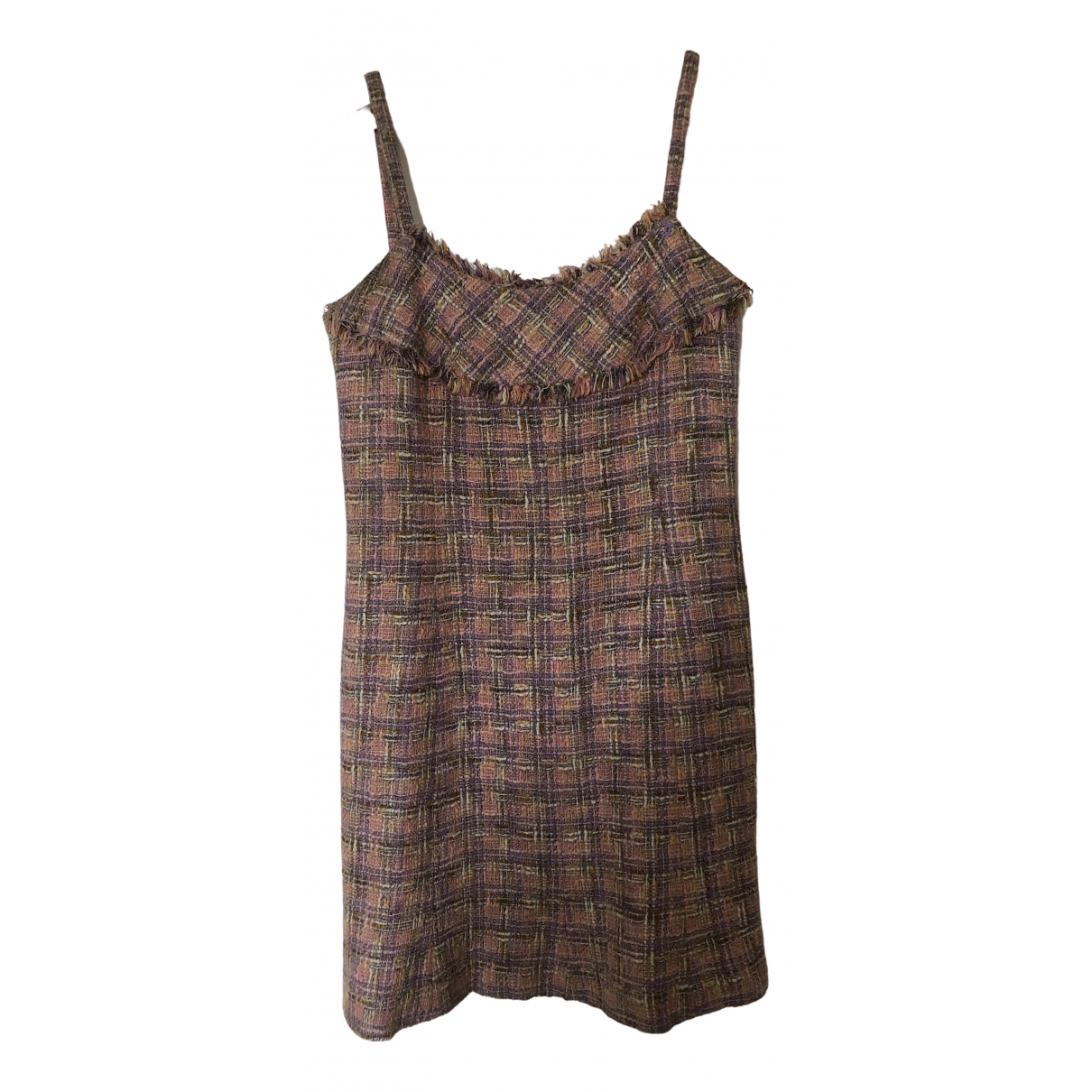 Chanel \N Kleid in  Rosa Tweed