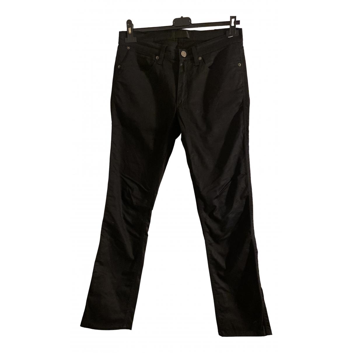 Acne Studios N Black Cotton - elasthane Jeans for Women 29 US