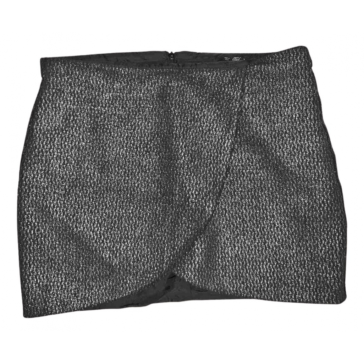 Zara \N Rocke in  Grau Polyester