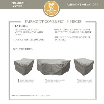 FAIRMONT-04hWC-GRY Protective Cover Set  for FAIRMONT-04h in