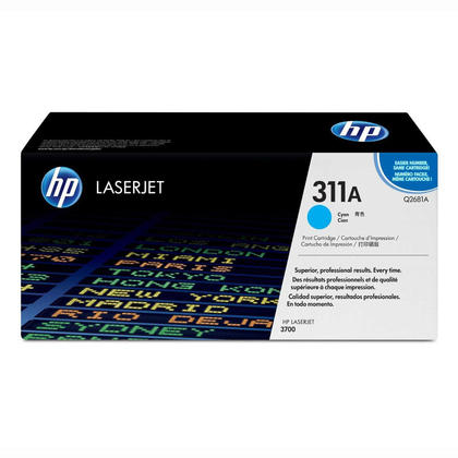 HP 311A Q2681A cartouche de toner originale cyan
