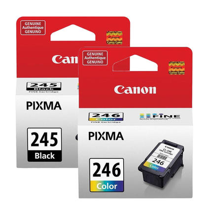 Canon PIXMA MG2400 cartouches encre originales noire et couleur, ensemble de 2 paquet - rendement standard