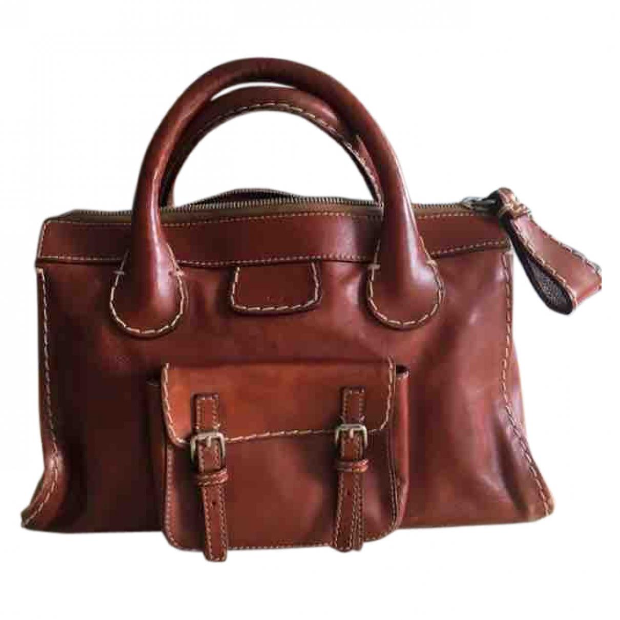 Chloé Edith Camel Leather handbag for Women \N