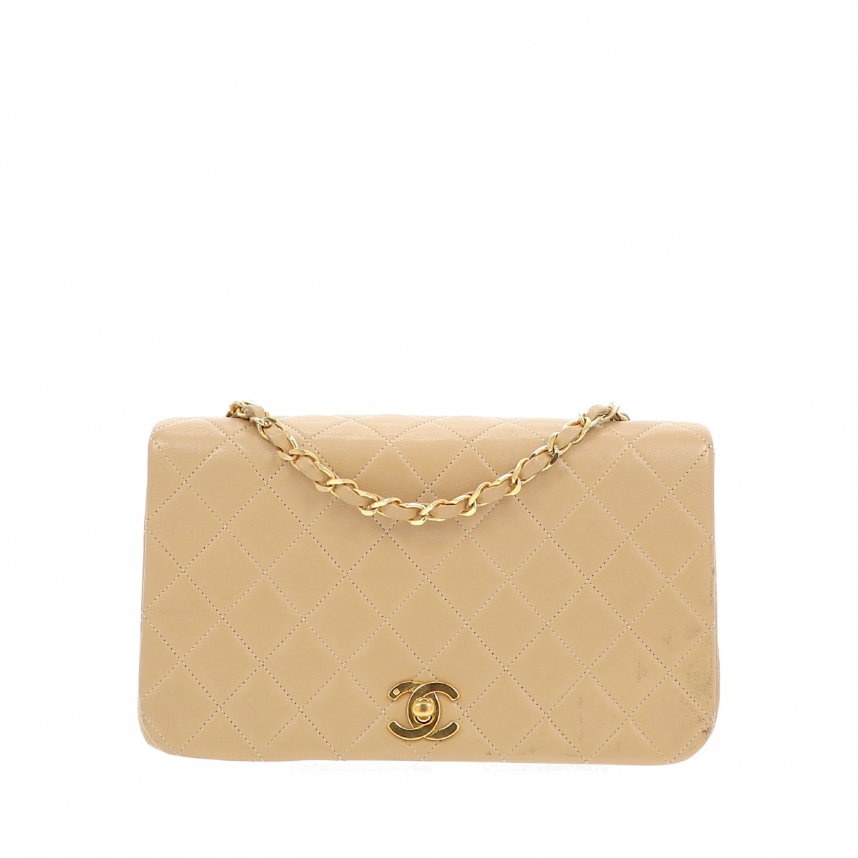 Chanel Timeless/Classique Beige Leather Clutch bag for Women \N