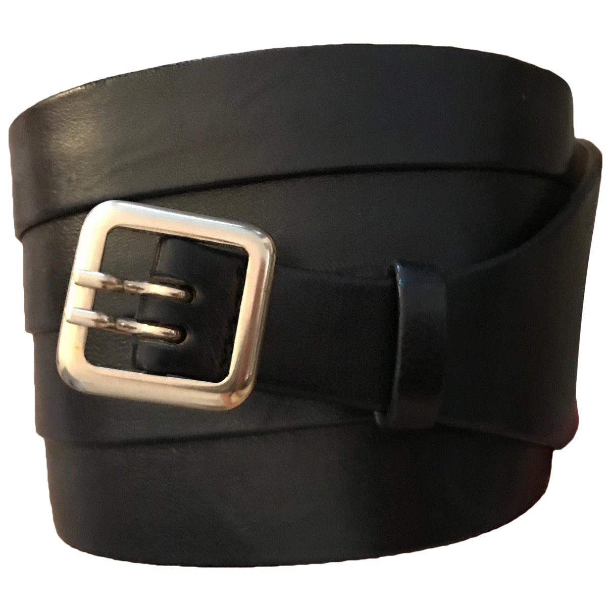 Givenchy \N Guertel in  Schwarz Leder
