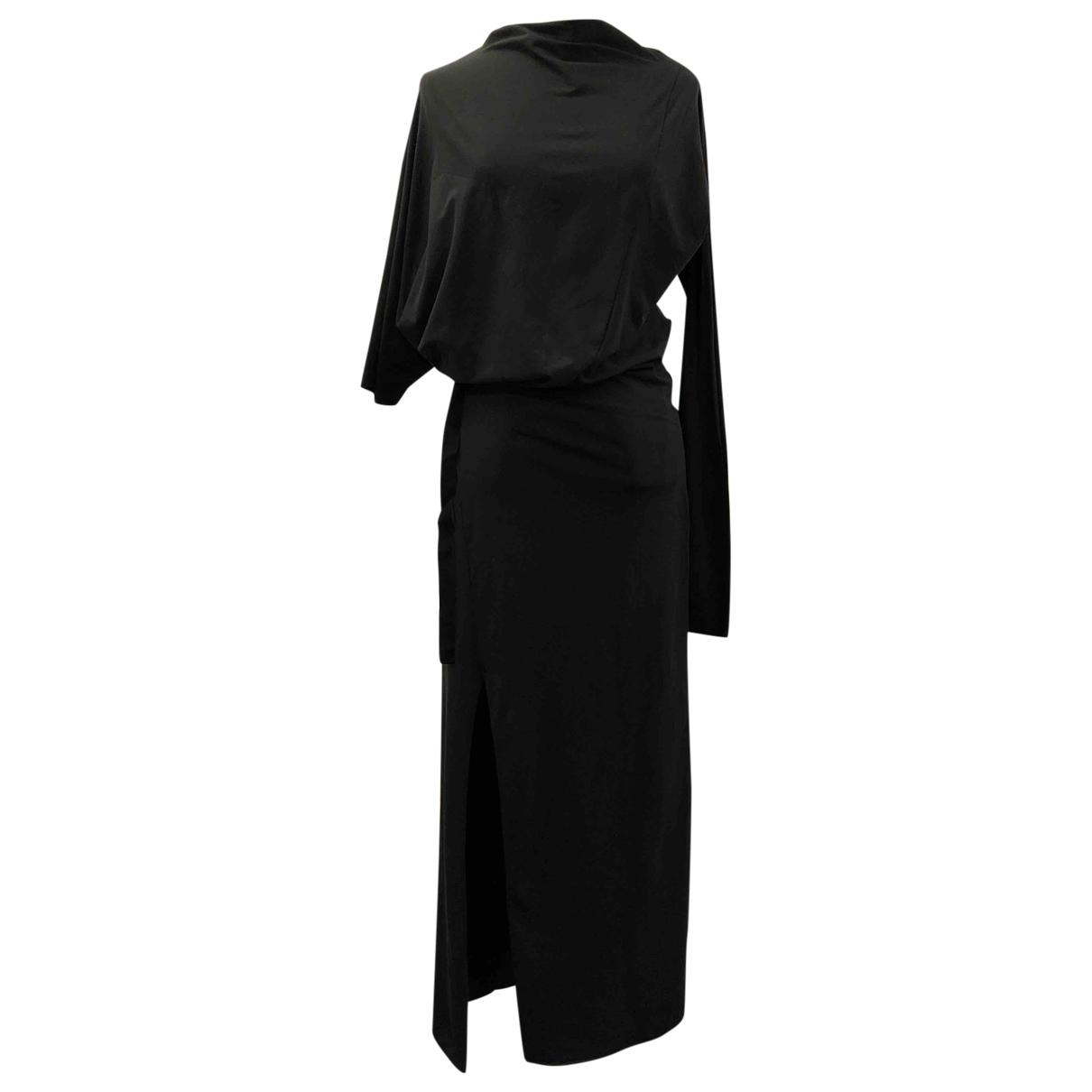 Y-3 \N Kleid in  Schwarz Baumwolle
