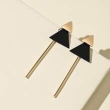 Ohrringe mit Geometrie Design