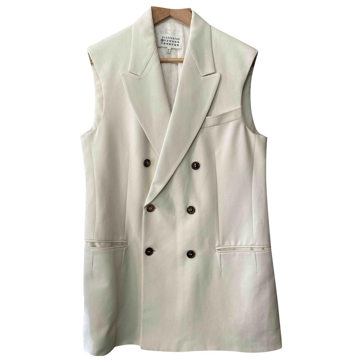 Maison Martin Margiela \N White jacket  for Men 48 IT