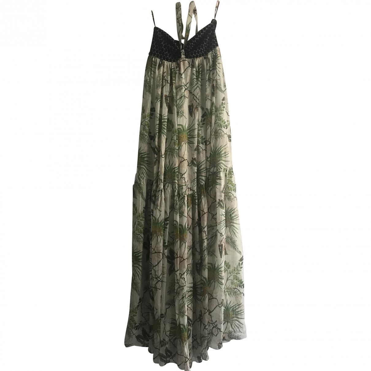 Adriana Iglesias \N Multicolour Cotton - elasthane dress for Women XS International