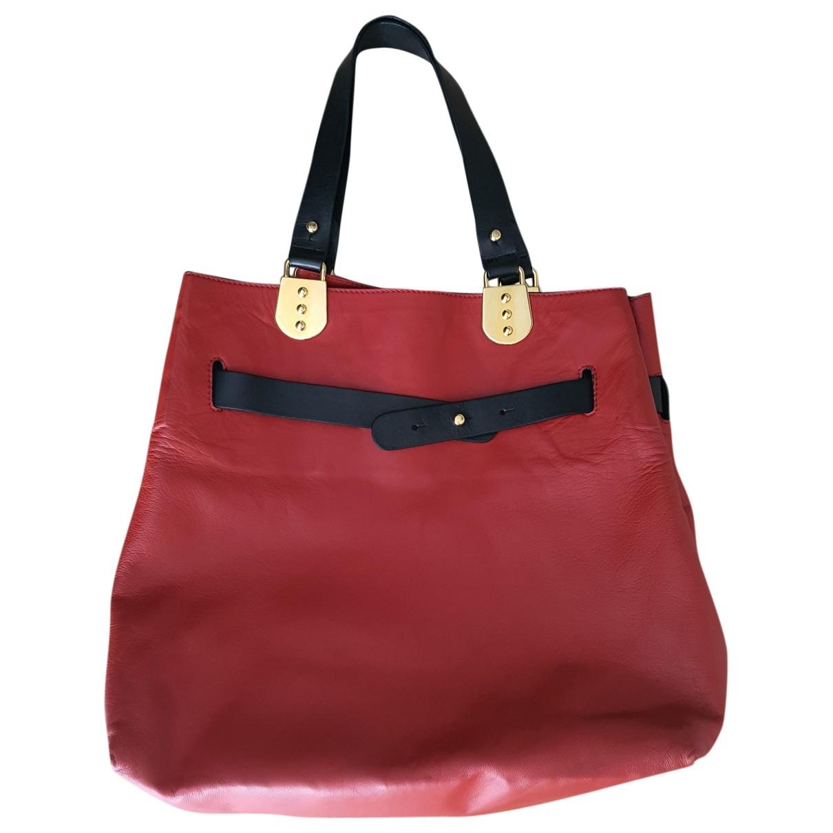 Christian Louboutin \N Red Leather handbag for Women \N