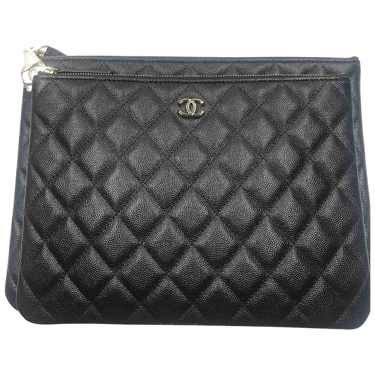Chanel Timeless/Classique Black Leather Clutch bag for Women \N