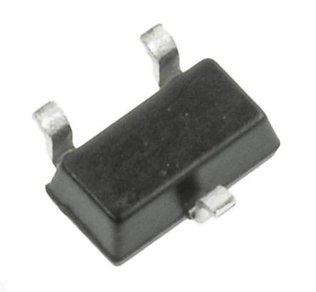 DiodesZetex Diodes Inc BC807-25W-7 PNP Transistor, 500 mA, 45 V, 3-Pin SOT-323 (100)