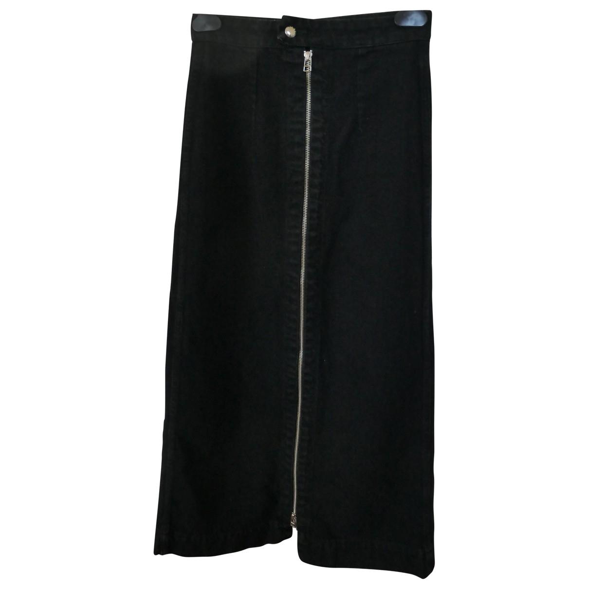 Eckhaus Latta \N Rocke in  Schwarz Denim - Jeans