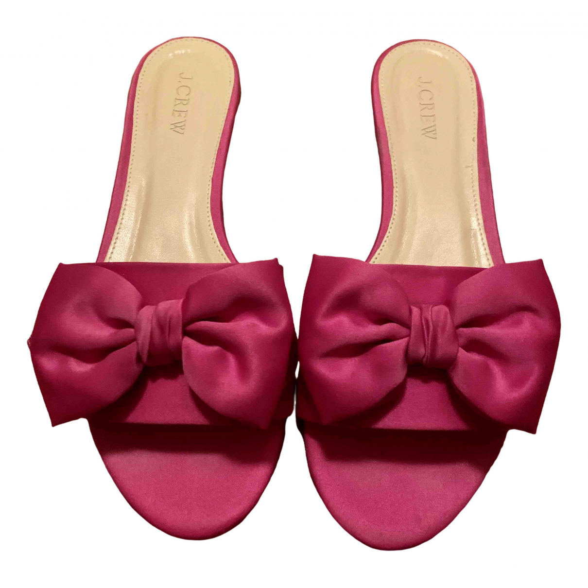 J.crew \N Pink Leather Sandals for Women 38 IT