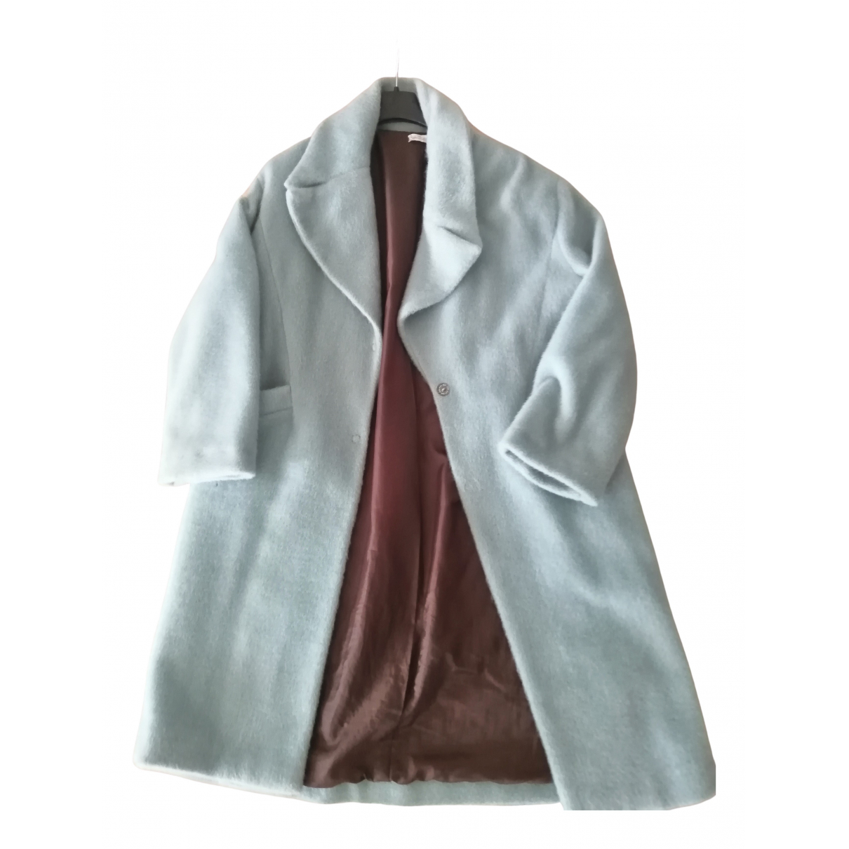 Non Signé / Unsigned N Blue coat for Women M International