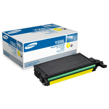 Samsung CLT-Y508L Original Yellow Toner Cartridge High Yield