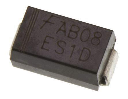 ON Semiconductor Switching Diode, 1A 600V, 2-Pin DO-214AC S1J (100)