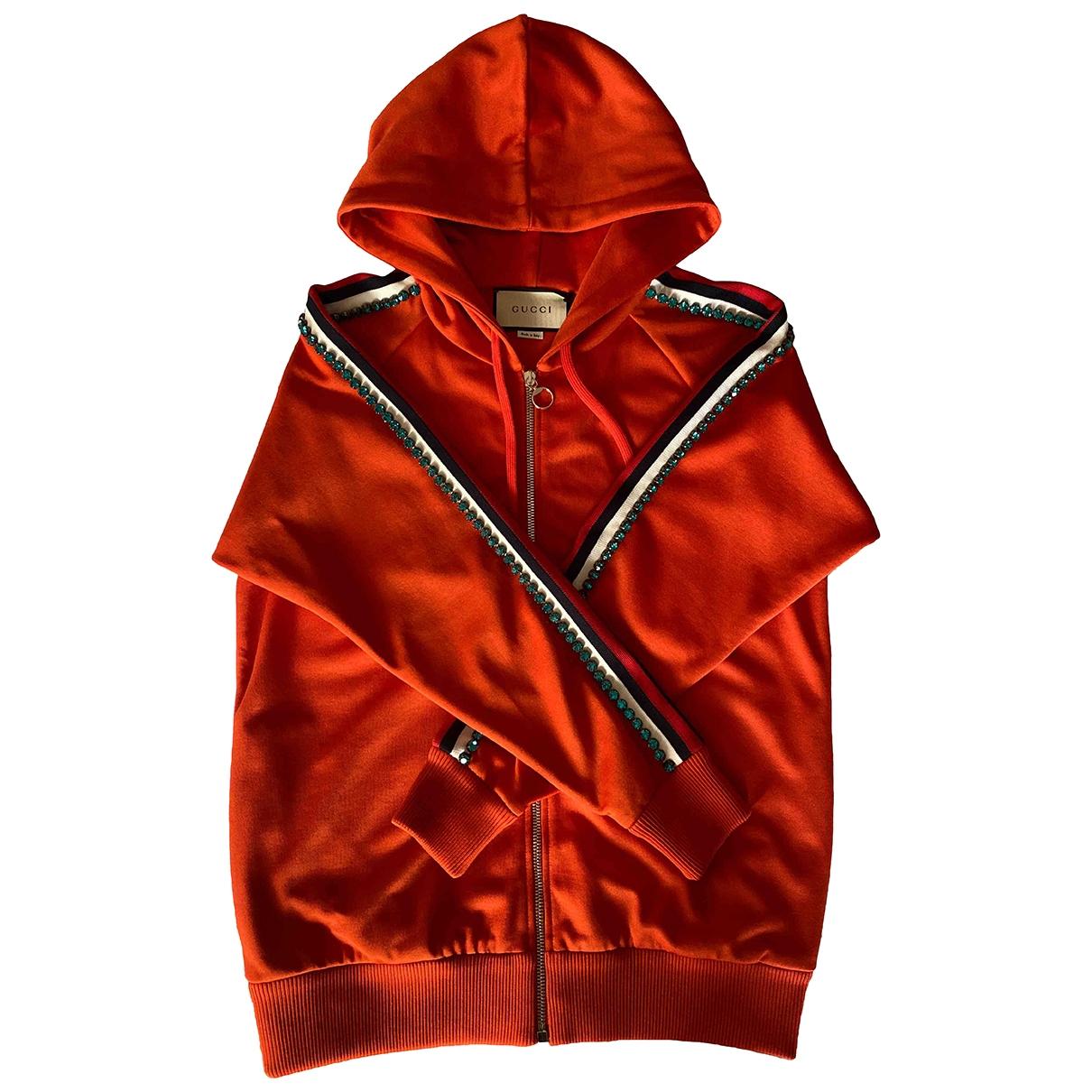 Gucci \N Orange Cotton Knitwear for Women XS International