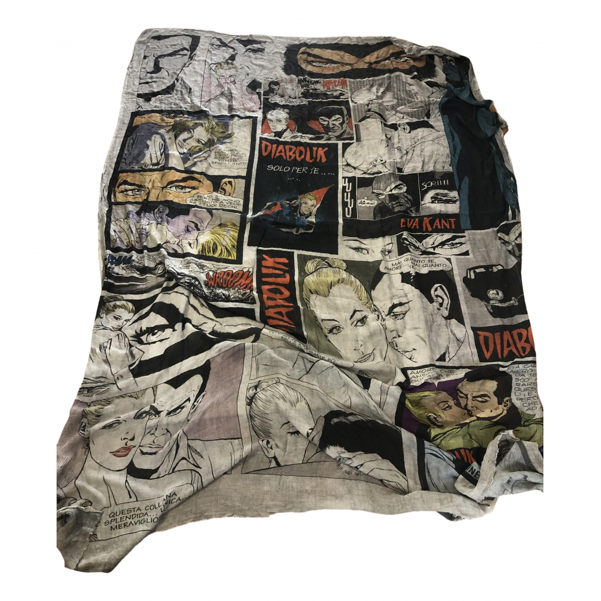 Faliero Sarti \N Multicolour scarf for Women \N