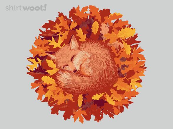 Leafy Foxy T Shirt