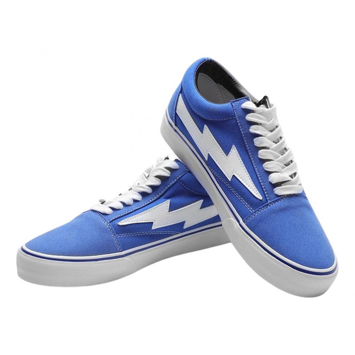 Revenge X Storm \N Sneakers in  Blau Leinen