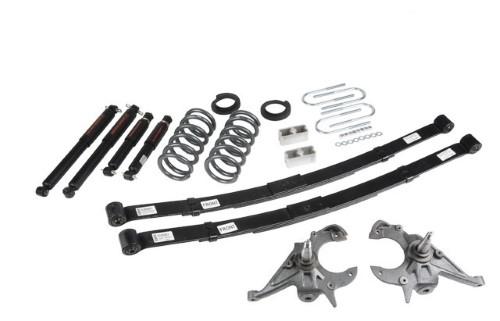Belltech 633ND 4-5inch Front 5inch Rear Lowering Kit w/ ND2 Shocks Chevrolet Blazer   GMC Jimmy 6cyl 1995-1997