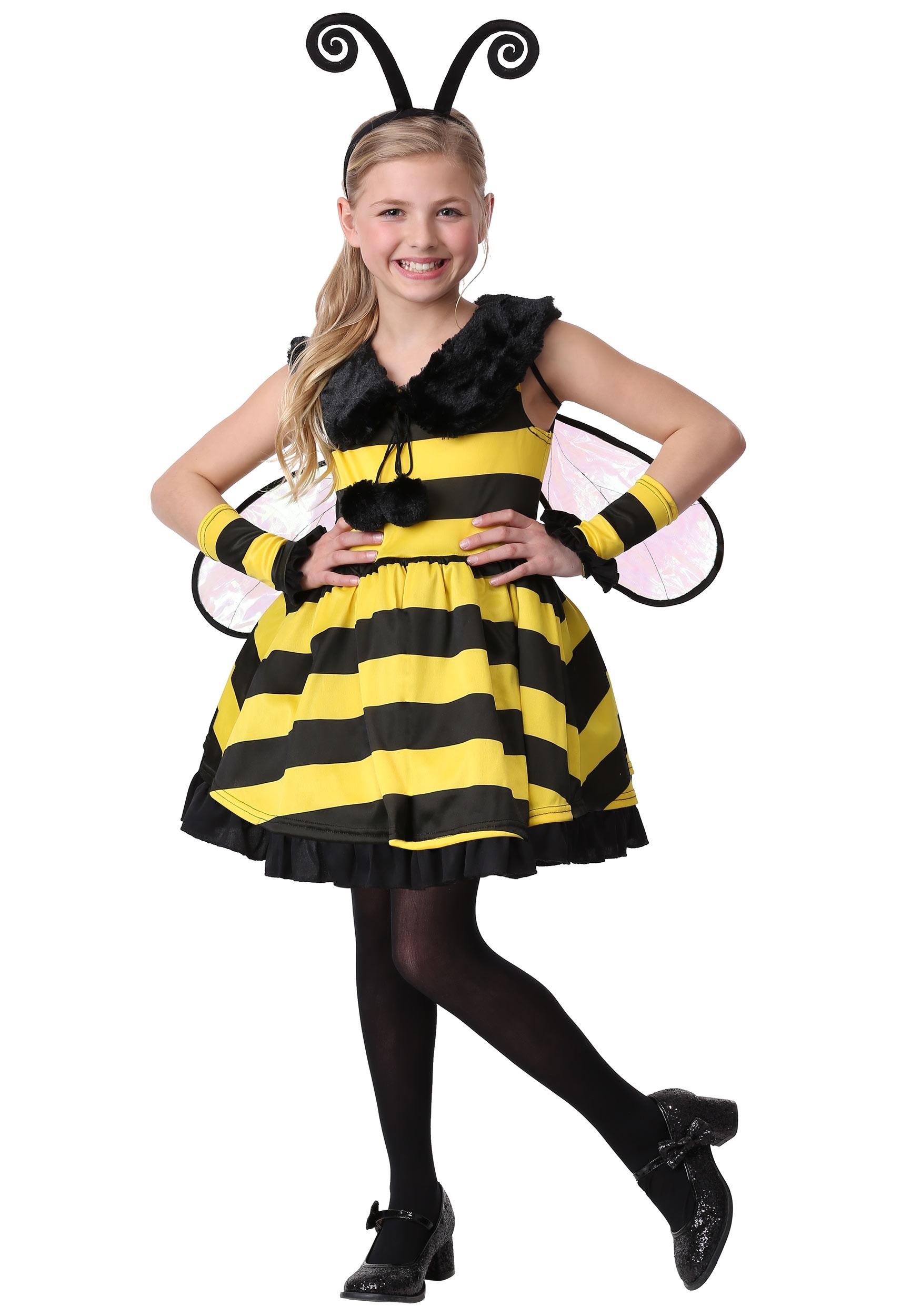 Deluxe Bumble Bee Girl's Costume