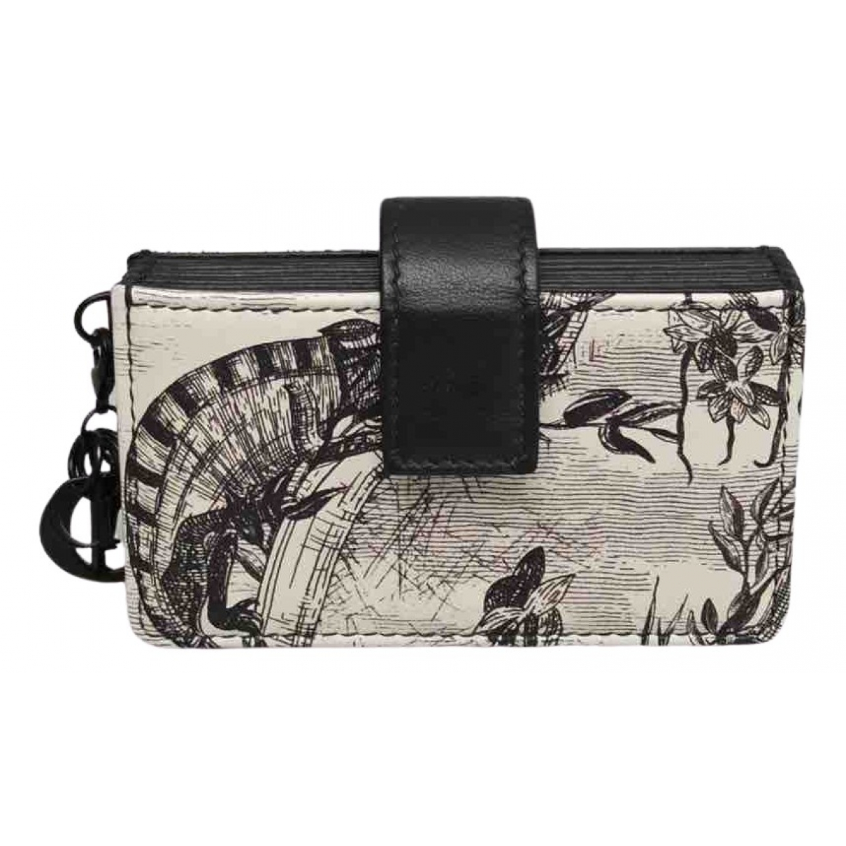 Dior \N Leather Small bag, wallet & cases for Men \N