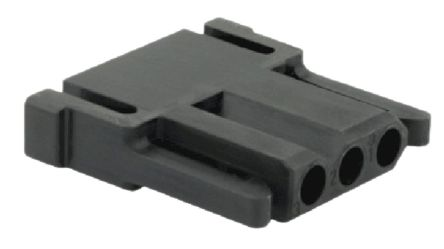 Souriau , SMS Male Connector Housing, 5.8mm Pitch, 3 Way, 1 Row (5)