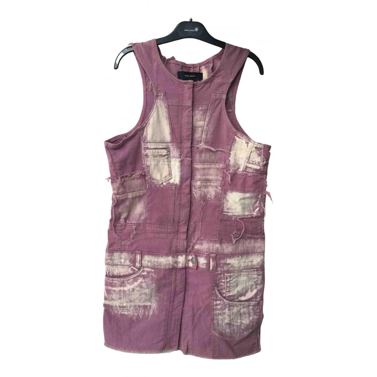 Isabel Marant - Robe   pour femme en coton - elasthane - rose