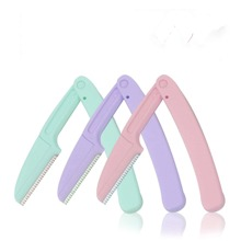 3pcs Foldable Eyebrow Trimming Knife