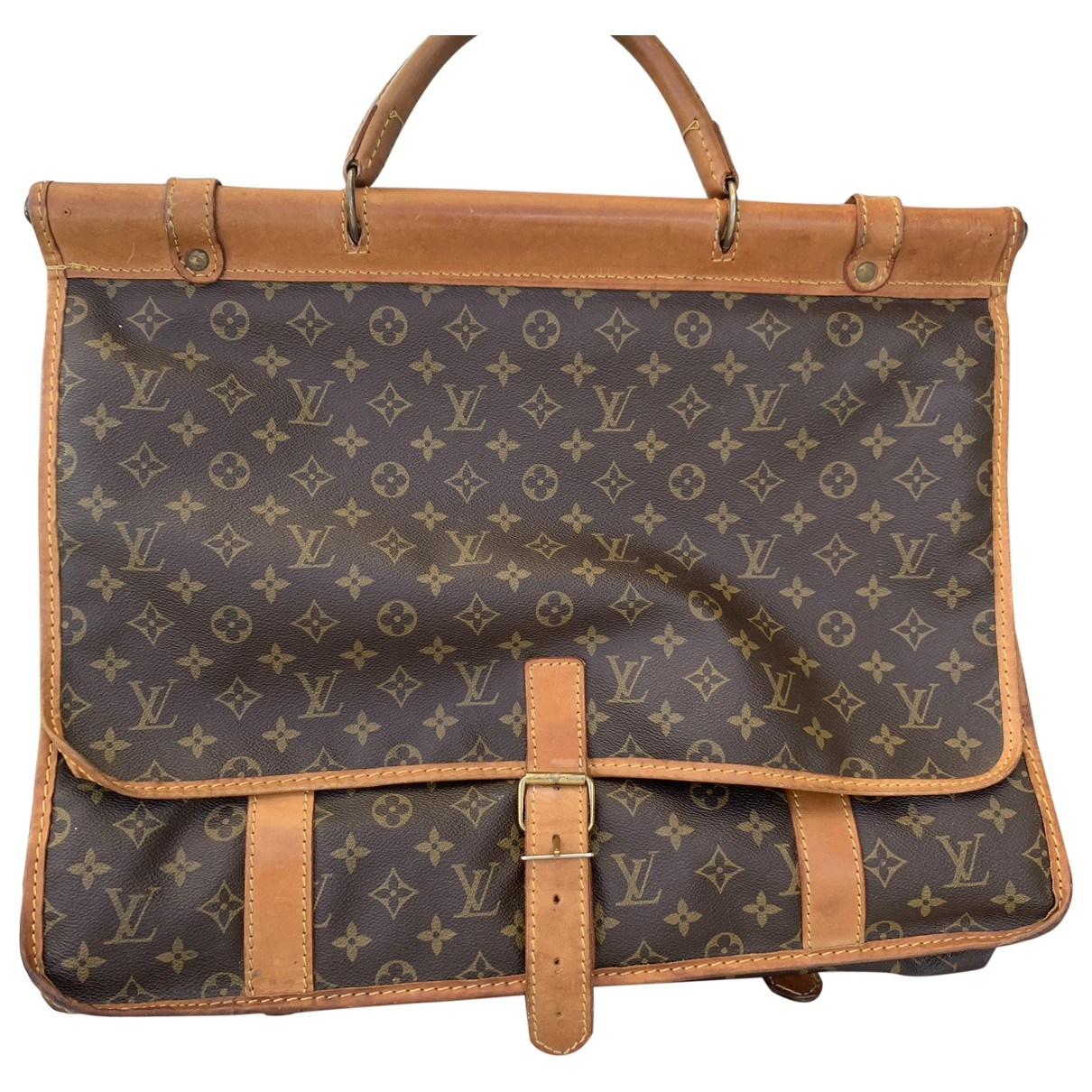 Louis Vuitton Chasse Brown Cloth Travel bag for Women \N