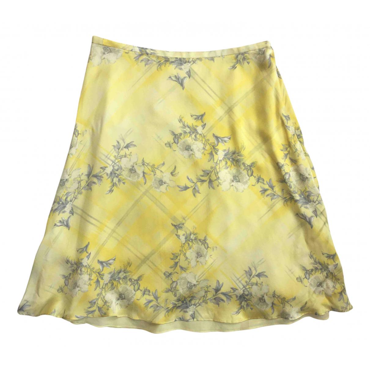 Falda midi de Seda Escada