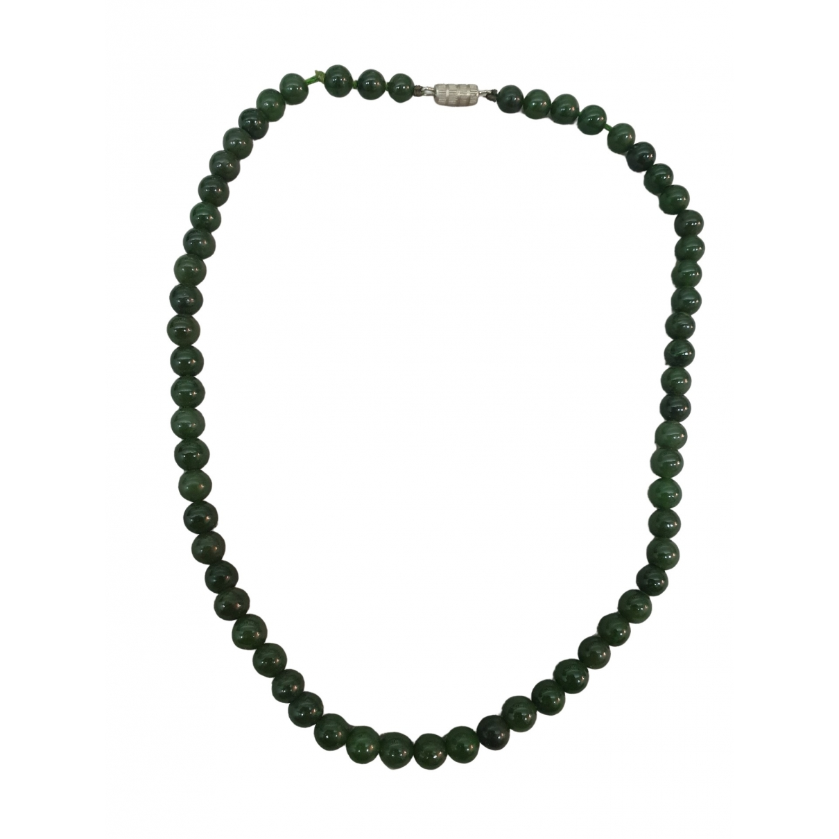 Non Signé / Unsigned Motifs Ethniques Green Jade necklace for Women \N