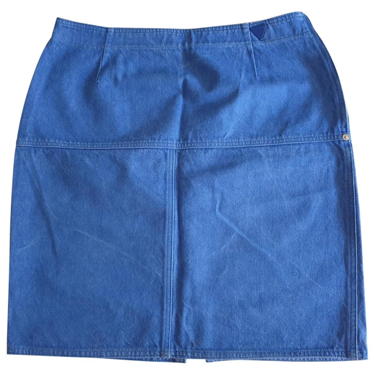 Genny - Jupe   pour femme en denim - bleu