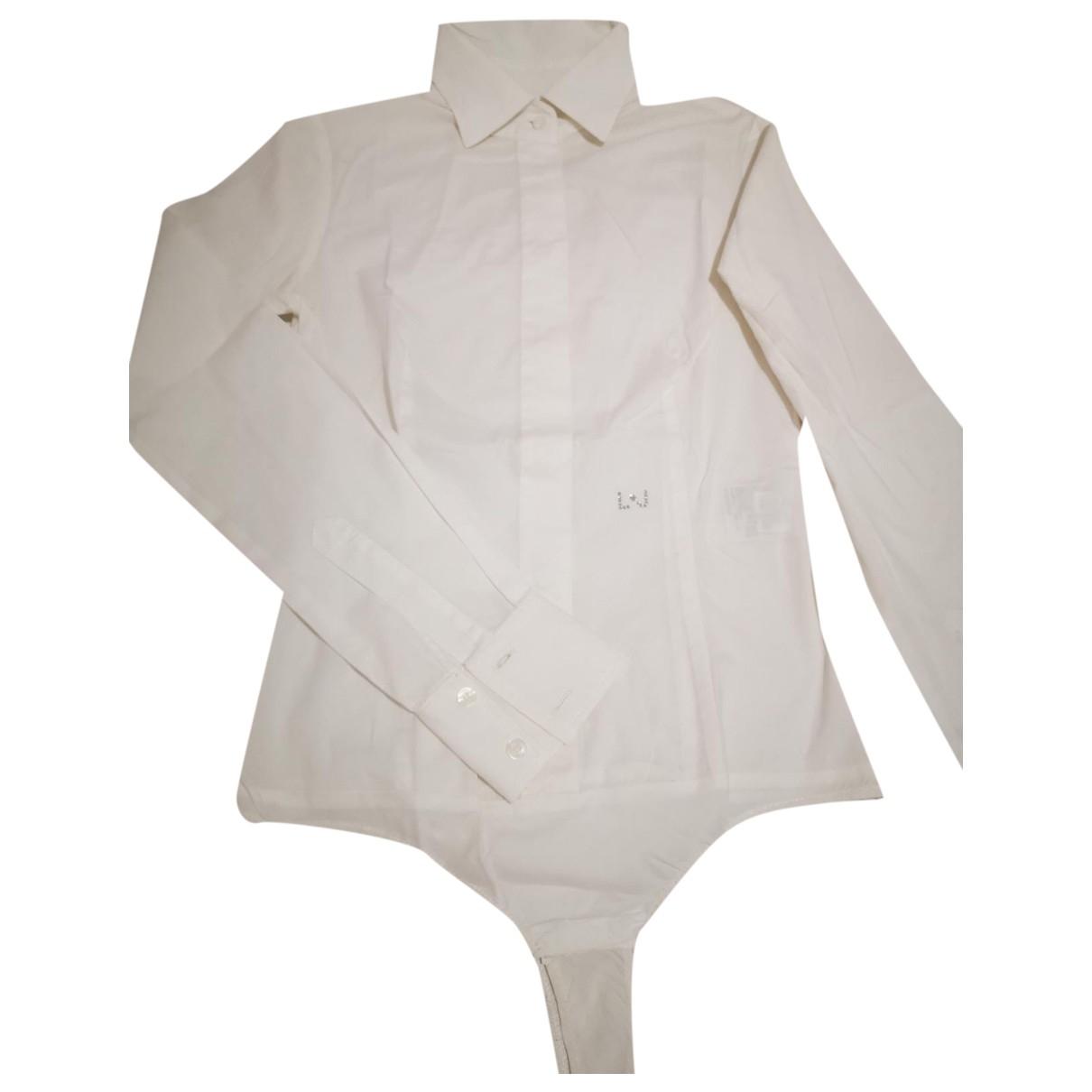 Liu.jo - Top   pour femme en coton - blanc