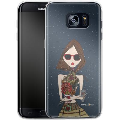 Samsung Galaxy S7 Edge Silikon Handyhuelle - IRMA In Copenhagen von IRMA