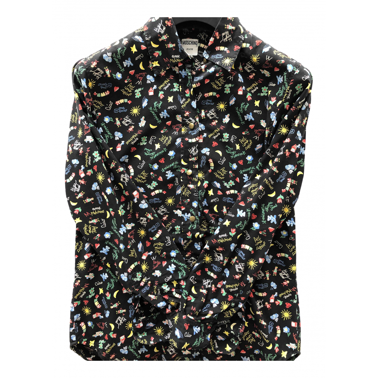 Moschino Cheap And Chic \N Multicolour Cotton Shirts for Men S International