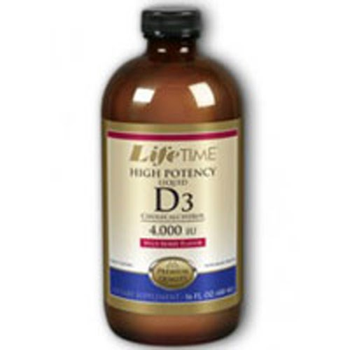 Liquid D3 High Potency Wild Berry 16 oz by Life Time Nutritional Specialties