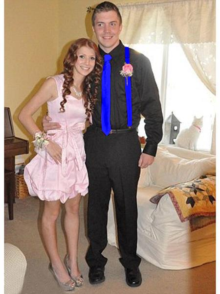 High School Homecoming Outfits For Guys Casual Package Blue
